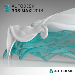 3ds max 2018 badge 256px