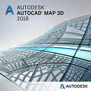 autocad map 3d 2018 badge 180
