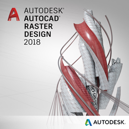 autocad raster design 2018 badge 256px