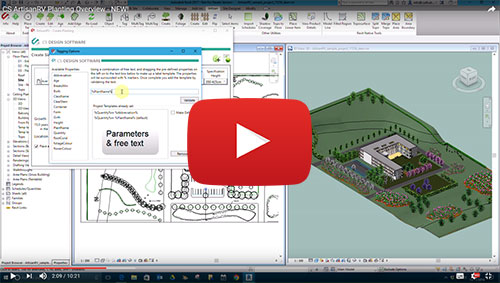 Revit Landscape Design Software video