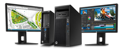 HP-workstation