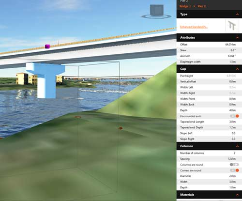 bridge design revit infraworks bridge design tool settings