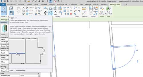 copy function revit