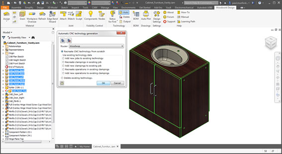 creating cnc information