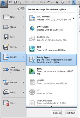 revit family type create new