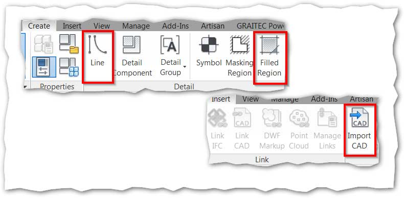 revit tips autodesk hidden 2d symbols import cad