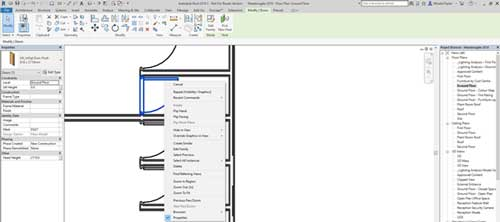 selection options revit multi select tab entire project