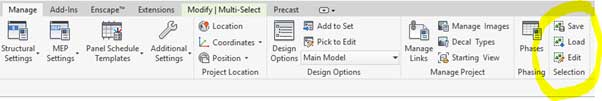 selection options revit multi select tab selection load
