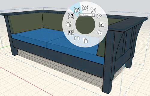 sketchup formit to revit workflow setee edit group
