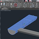 AutoCAD 3D Tip - How to slice curved solid objects