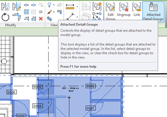 Autodesk Revit Attached Detail Groups