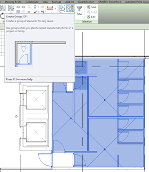 Autodesk Revit Create Group