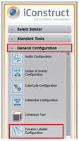 Configure the Dynamic Labeller Tool
