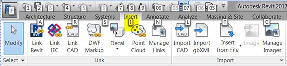 Managing Revit Tooltips and Keytips Keytip 1