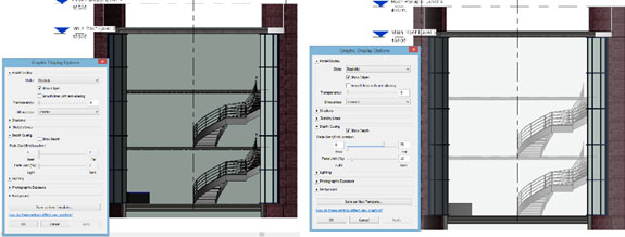 Revit Depth Cueing Fading Example