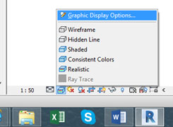 Revit Depth Cueing Graphic Display Options