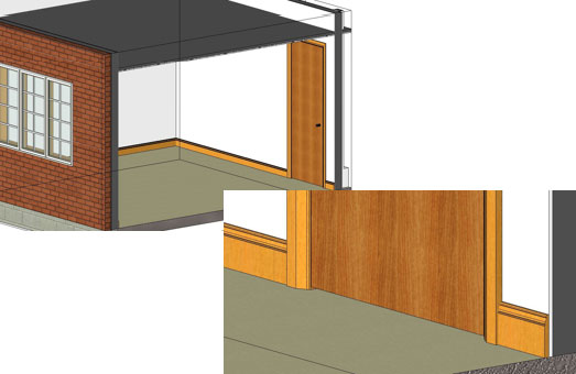 Revit add rooms to your model choose relevant wall style