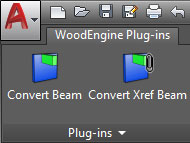 woodengine plugin menu 2 advance steel