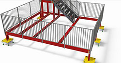 Advance Steel Railing Training