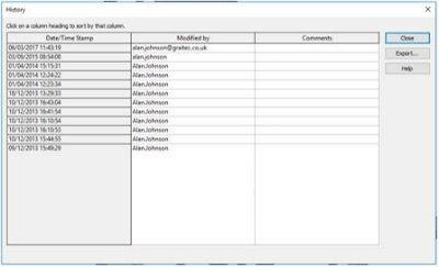 revit file user tracking history 2