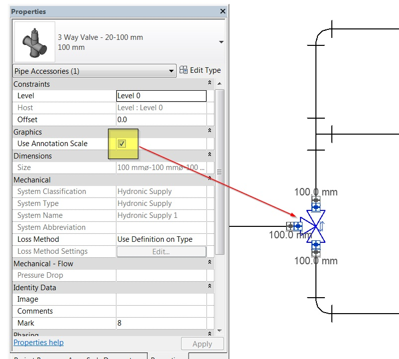 revit mep symbol scaling 4