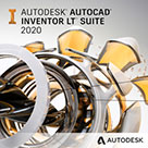 autocad inventor lt suite 2020 badge 136px opt