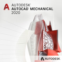 autocad mechanical 2020 badge 256px opt