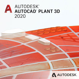 autocad plant 3d 2020 badge 256px opt