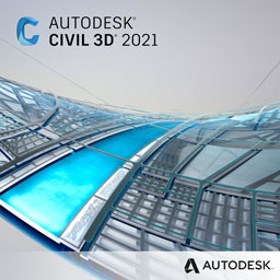 civil 3d 2021 badge 256px opt