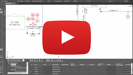 autocad pid overview video 1