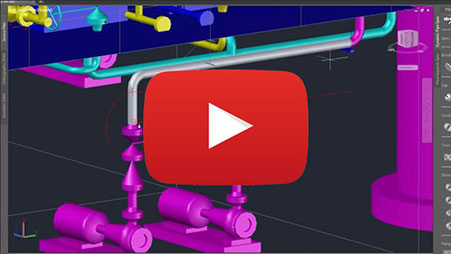 autocad plant 3d overview video