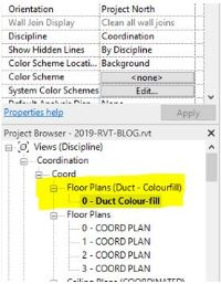 How To Colour By Numbers In Revit With Duct Colour Fill Legends 3