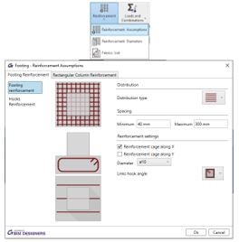 Reinforcing A Concrete Footing In Revit Using Graitec BIM Designers 3