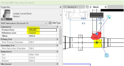 Revit Enhanced MEP Fabrication Parts 1