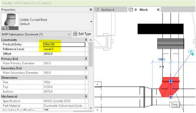 Revit Enhanced MEP Fabrication Parts 2