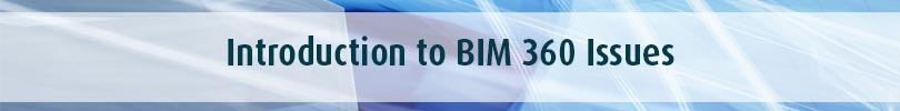 Introduction to BIM 360 Issues