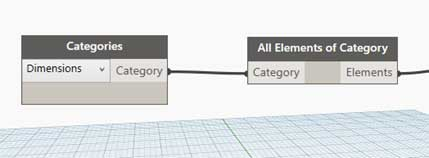 Overriding dimensions Revit dynamo highlight