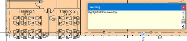 Pin elements in revit warning