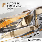 autodesk powermill badge 150px