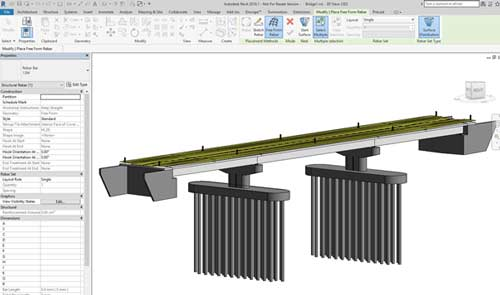 bridge design revit import