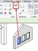 exploded views revit displacement set element tool window