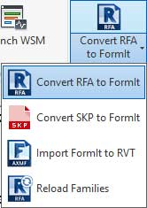 formit 360 revit iteration workflows bim convert rfa
