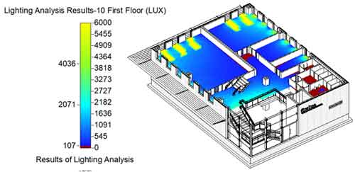 quantitative lighting analysis insight 360 floor plan