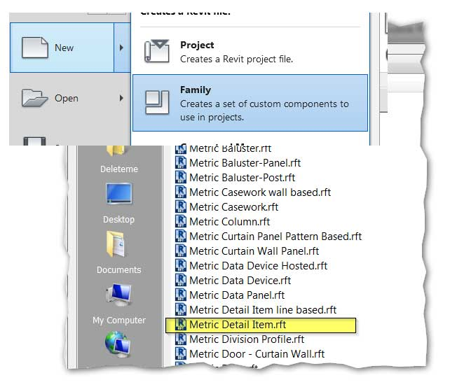 revit tips autodesk hidden 2d symbols family create