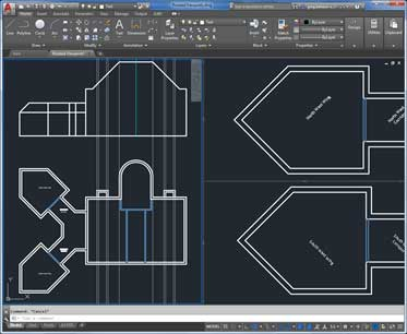rotate model view autocad lt