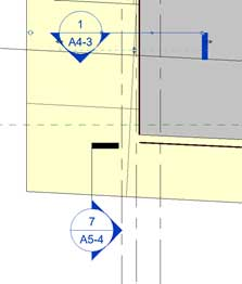 section heads revit flip
