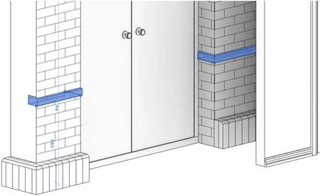 wrapping revit wall sweeps openings