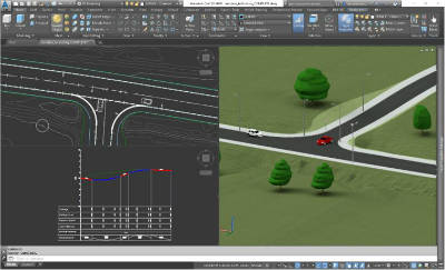 civil 3d tying into an existing road 2