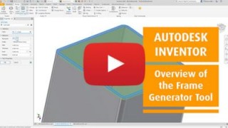 An Overview of the Autodesk Inventor Frame Generator Tool