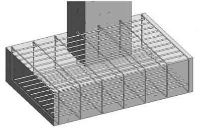 Reinforcing-A-Concrete-Footing-In-Revit-Using-Graitec-BIM-Designers-cover